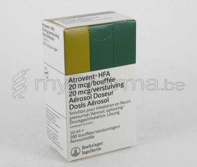 Atrovent Inhaler Dose